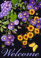 Toland Butterfly Vineyard Garden Flag