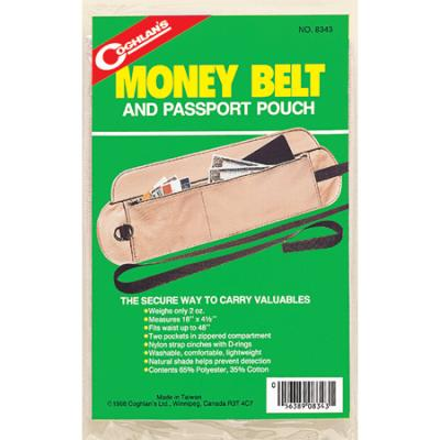 Coghlans Money Belt and Passport Pouch