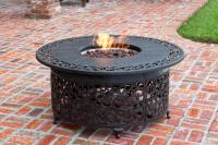 Well Traveled Living Cast Aluminum LPG Fire Pit