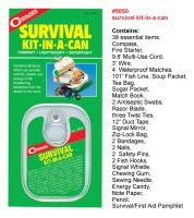 Coghlans Survival Kit In-a-Can