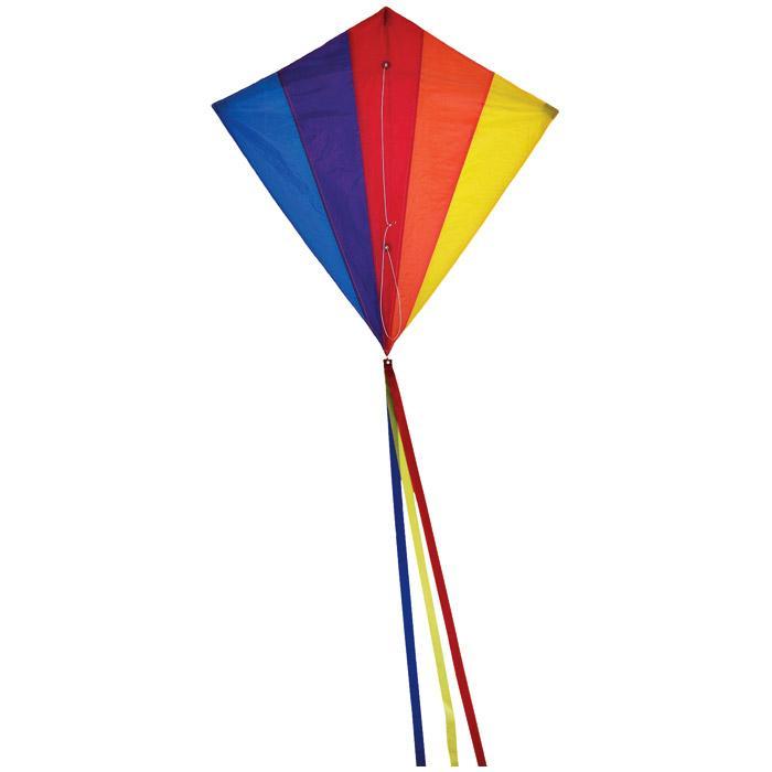 "In The Breeze Diamond Kite 30"" - Rainbow"