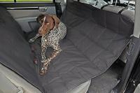 Petego Dog Car Seat Protector Hammock, Black, X-Large