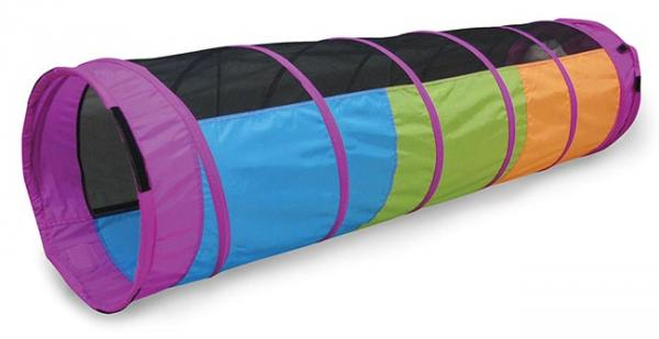 Pacific Play Tents I Can See You Tunnel - Blue / Green / Yellow