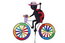 Premier Designs Ladybug Bicycle Garden Spinner