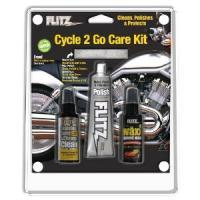Flitz Cycle 2 Go Kit W/Storage Bag