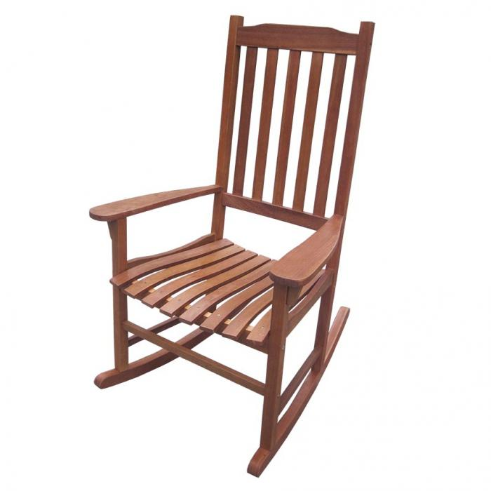Traditional Rocking Chair, Oil Based Stain