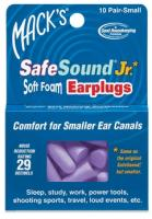 Mack's Safe Sound Junior Earplugs, 10 Pack
