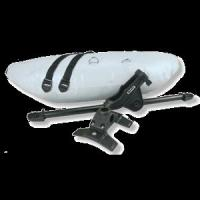 Scotty Products Kayak Stabilizer System Complete Kit 2 Pontoons and Mounting  Kits
