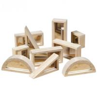 Guidecraft Mirror Blocks 10 pc Set
