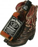 Rivers Edge Products Cowboy Boots Wine Bottle Holder