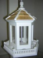Home Bazaar Gazebo Birdfeeder (MUST ORDER IN 4'S)