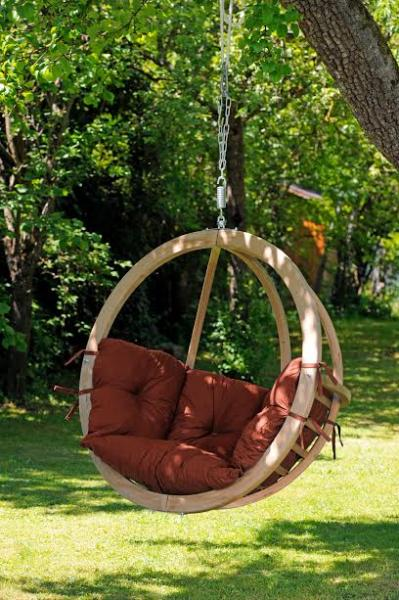 Byer of Maine Globo Chair, Terra Cotta, Agora Outdoor Fabric