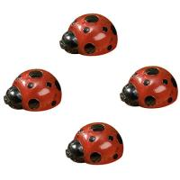 Smart Solar Ladybug Solar Light Set - Set of 4