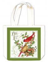 Alice's Cottage Holly and Ivy Gift Tote