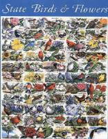 White Mountain State Birds and Flowers Puzzle