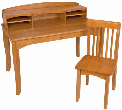 Kidkraft Avalon Desk With Hutch Honey