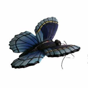 The Clark Collection Blue Butterfly Window Magnet