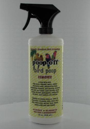 Poop-Off Bird 32 Ounce Bottle