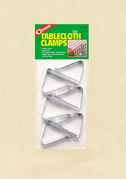 Coghlan's Tablecloth Clamps (Package Of 6)