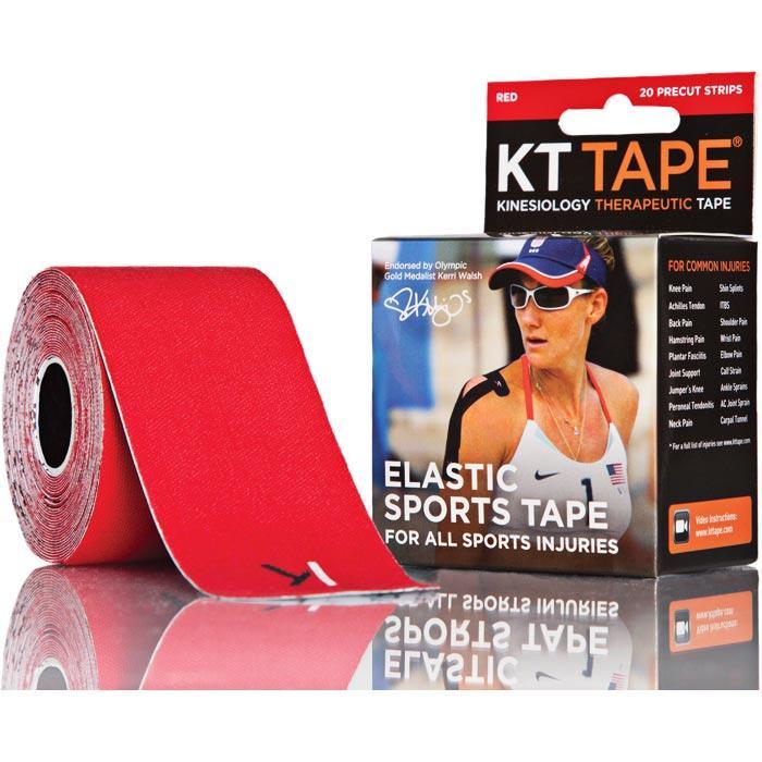 Kt Tape Pre-cut Red