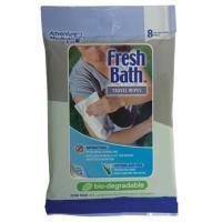 Adventure Medical Fresh Bath Bio Travel Wipes