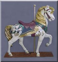 Royal Stander Jeweltone Carousel Horse