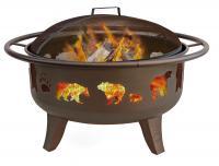 "Landmann USA 30"" Fire Dance Fire Pit with Grate"