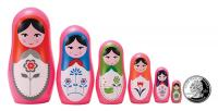 The Original Toy Company Babushka Micro Nesting Dolls