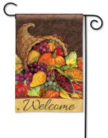Magnet Works Thanksgiving Harvest Garden Flag