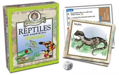 Outset Media Games Professor Noggin's Reptiles & Amphibians Card Game