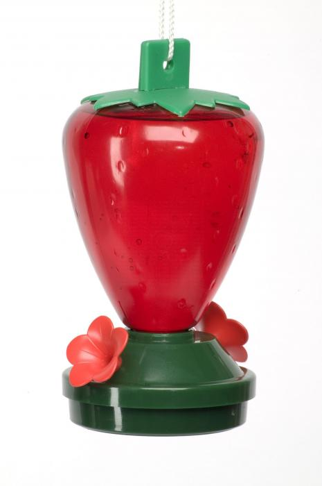 Artline 12 Ounce Strawberry Hummingbird Bird Feeder