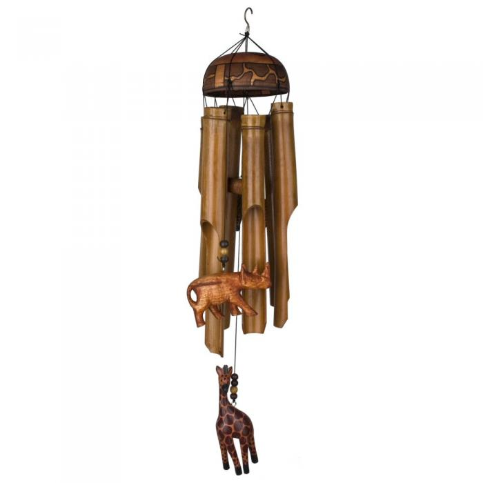 Woodstock Chimes The African Trio Bamboo Chime