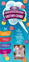 Nostalgia Electrics HCK-800 Hard & Sugar Free Cotton Candy Kit