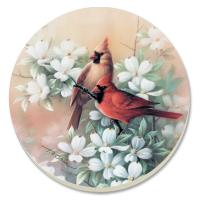 Counter Art Cardinals Coasters Set of 4