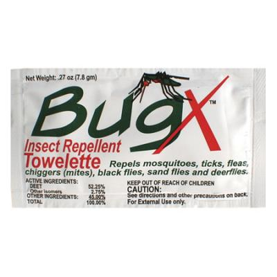 Coretex Products Bugx Repellent Towelette