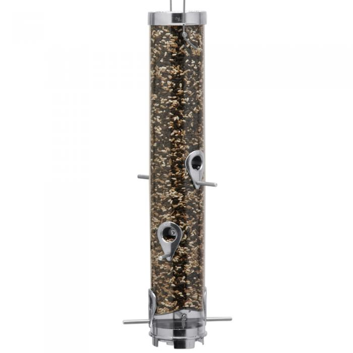 Droll Yankees Classic Ring Pull B Size Tube Bird Feeder