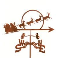 EZ Vane Santa with Sleigh Weathervane
