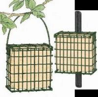 Suet Board Bird Feeder with Pole Clamp