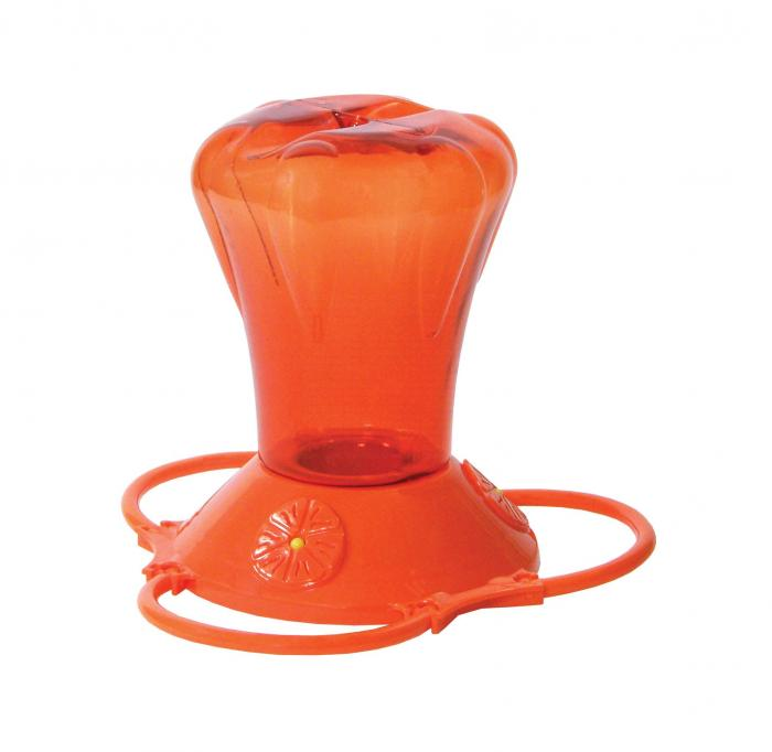 Hiatt Manufacturing 28 Ounce Oriole Bird Feeder, Orange