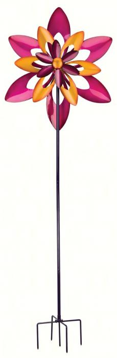 Regal Art & Gift Starflower 32 inch Kinetic Stake