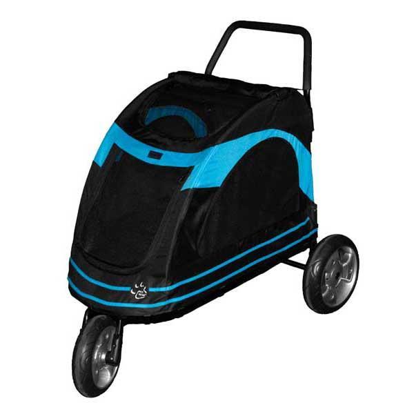 """Pet Gear Roadster Pet Strollers Black / Blue 33"""" x 20"""" x 21"""""""