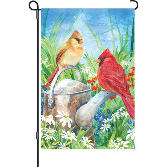Premier Designs Summer Cardinal Garden Flag
