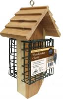 Heath Redwood Double Suet Feeder