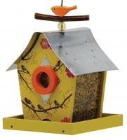 Rosso's International Retro Chic Feeder Musical Birds