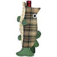 Outside-Inside Largemouth Bass Bottle Cover