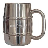 Eco Vessel Double Barrel Beer Mug