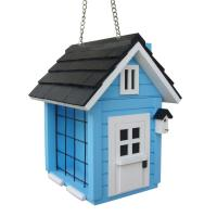 Home Bazaar Cottage Suet Feeder- Blue