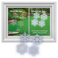 Window Alert Snowflake Decal