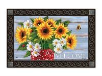 Magnet Works Bandana Sunflowers MatMate