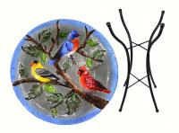 Songbird Essentials Songbird Trio Bird Bath with Stand